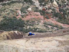 Rock Climbing Photo: Triassic Sands