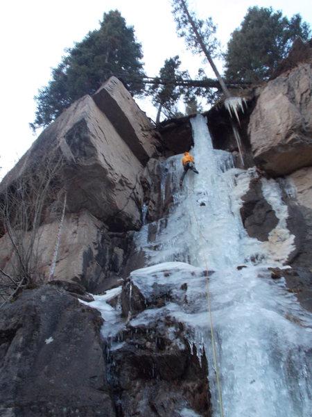 Rock Climbing Photo: RMNP Wild Basin Hidden Falls.