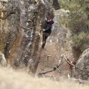 Rock Climbing Photo: Pine Mountain Highball