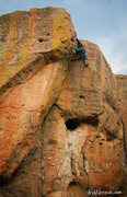 Rock Climbing Photo: Relief when there is something else besides the OW...