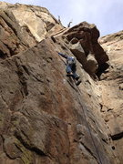 Rock Climbing Photo: GINO!
