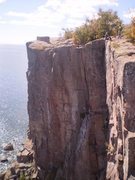 Rock Climbing Photo: Palisade Head, Blue Bells 5.9