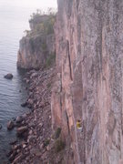 Rock Climbing Photo: Palisade Head, Oz 5.12b