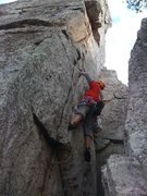 Rock Climbing Photo: Me on Traffic Jam!
