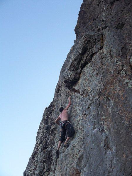 Rock Climbing Photo: Jonathan Hans on Treasure Island
