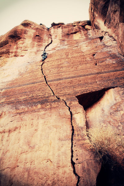Rock Climbing Photo: Green Horn Canyon is majestic