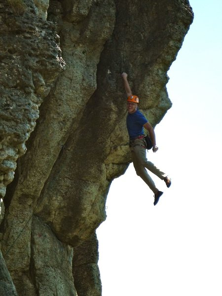 Rock Climbing Photo: Got it!