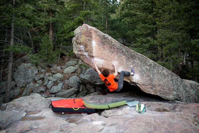 Rock Climbing Photo: Ian Civgin sending Turning Point on another beauti...