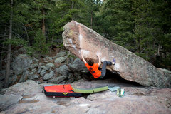 Rock Climbing Photo: Ian Civgin sending Turning Point on another beauti...