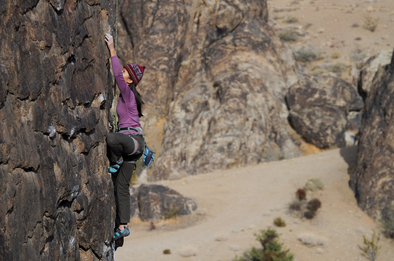 Rock Climbing Photo: Marilyn Hsiung somewhere in New jack City.   Photo...
