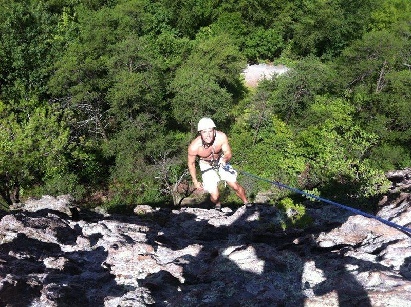 Rock Climbing Photo: The Balcony