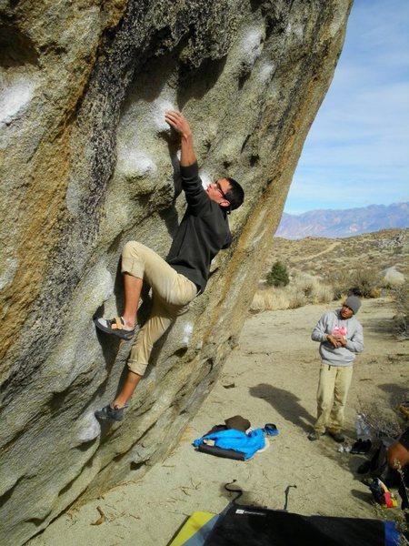 Rock Climbing Photo: Seven Spanish Angels, Buttermilks