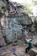 Rock Climbing Photo: Joe Ebert on Slicksides