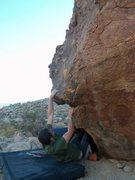 Rock Climbing Photo: The Lie down on C&Js Comet