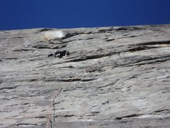 Rock Climbing Photo: Vomitus Maximus: The Monk fought for this onsight ...