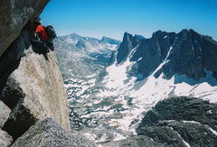 Rock Climbing Photo: Wolf's Head, Wind Rivers