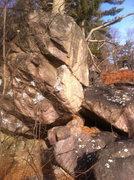 Rock Climbing Photo: Dry Spot