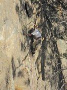 Rock Climbing Photo: Doug on the FA.