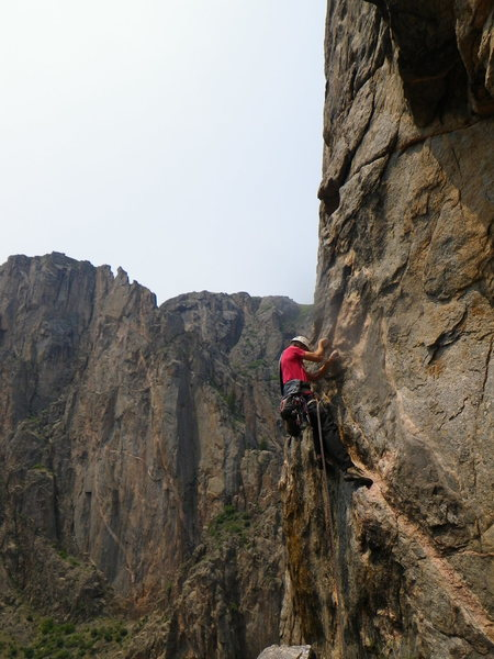 Rock Climbing Photo: The Blackest of Canyons