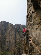 Rock Climbing Photo: The Blackest of Canyons