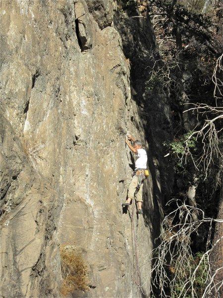 Rock Climbing Photo: Doug FA.