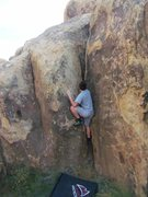 Rock Climbing Photo: Get your hand nice and deep..