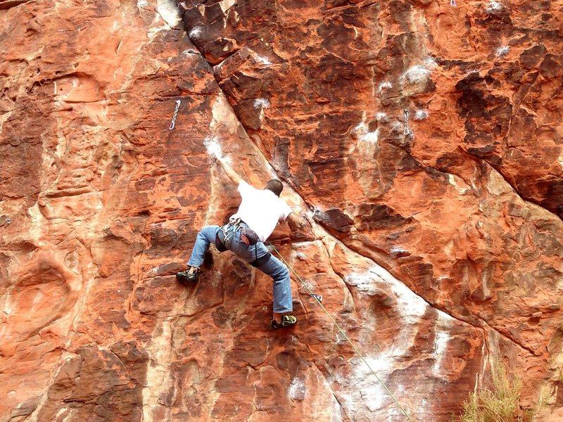A beautiful climb on great rock.
