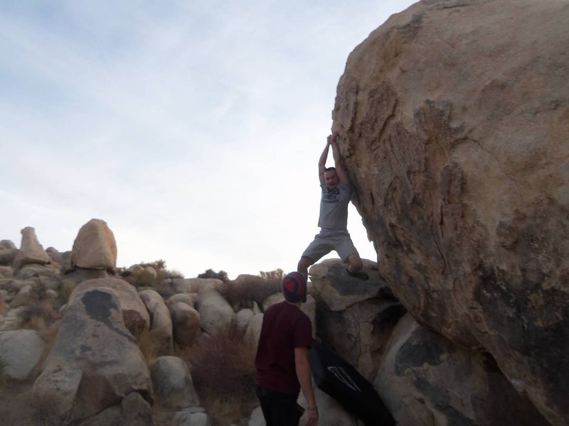 "Rock Climbing Photo: Almost lost it on ""Ups and Downs"", but r..."