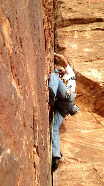 Rock Climbing Photo: A great climb for a half day.