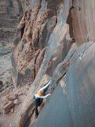 Rock Climbing Photo: Tara on Brewed Awakenings