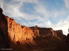 Rock Climbing Photo: winter sunset view from the ICP