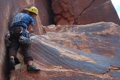 Rock Climbing Photo: some 5.9 pretty fun