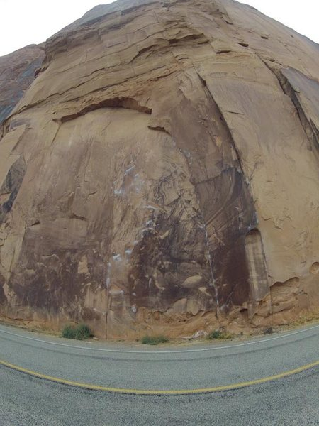 Rock Climbing Photo: Knapping is the face, Mother Trucker is the left f...