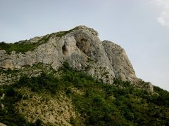 Rock Climbing Photo: Quiquillon from the Château sector