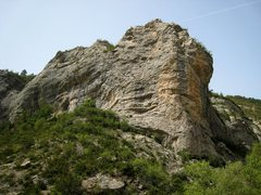 Rock Climbing Photo: The far right side of the Château Secteur