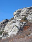 Rock Climbing Photo: Burning.