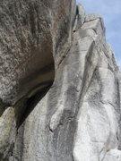 Rock Climbing Photo: Unfrozen Stool.