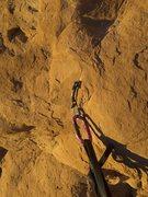 Rock Climbing Photo: nice Tomahawk, pitch 2.