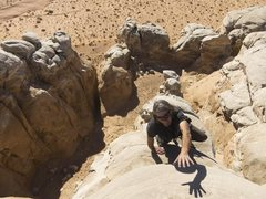 Rock Climbing Photo: Strappo reaching for the summit