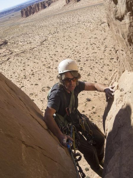 Rock Climbing Photo: Strappo, at top of pitch 3