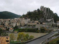 Rock Climbing Photo: Sisteron from Le Rocher de la Baume