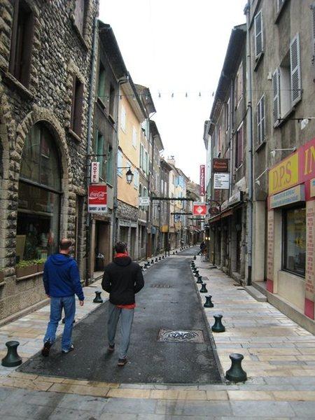 Streets of Sisteron
