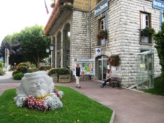 Rock Climbing Photo: Tourist office in Sisteron