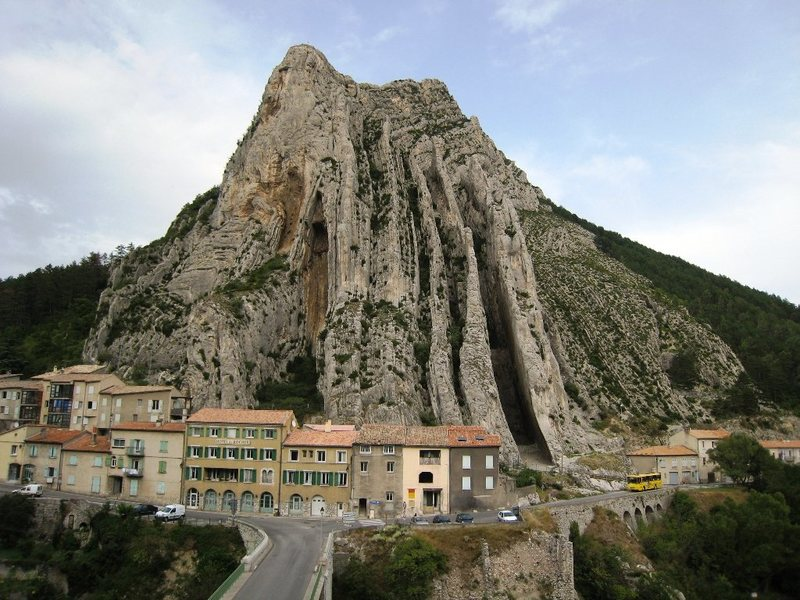 Le Rocher de la Baume from Sisteron