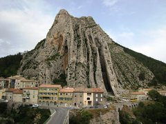 Rock Climbing Photo: Le Rocher de la Baume from Sisteron