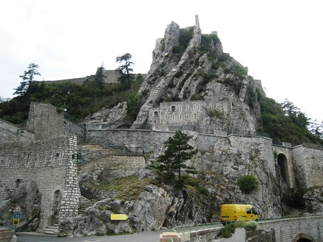The Citadel at Sisteron