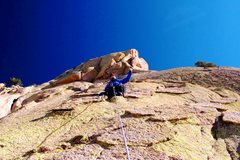 Rock Climbing Photo: Euphoria, Sheepshead, Cochise Stronghold, AZ