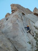 Rock Climbing Photo: Anchors are up and left. Don't be tempted by the a...