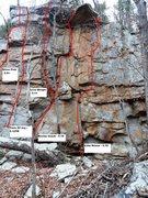 Rock Climbing Photo: tiers of joy