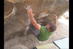 Rock Climbing Photo: Cue Ball